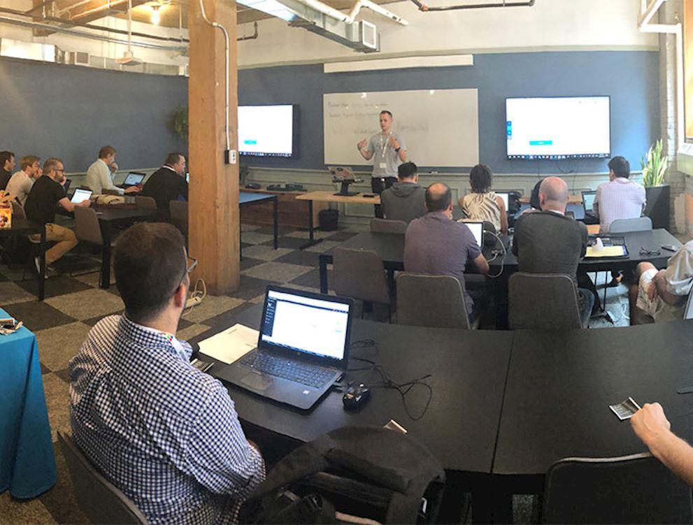 James Vidler Leads an Agility Developer Workshop